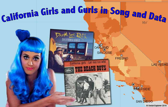 California Girls and Gurls by the Numbers