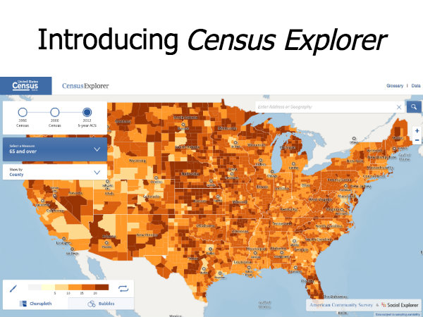Social Explorer and Census Bureau Collaborate on Census Explorer