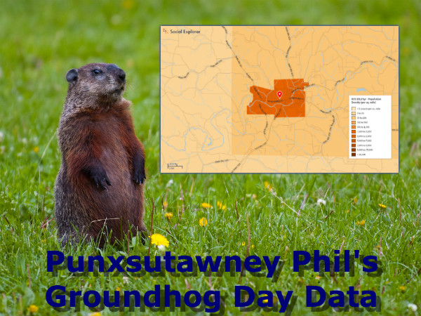 Groundhog Day: Burrowing into Punxsutawney Phil's Hometown Data