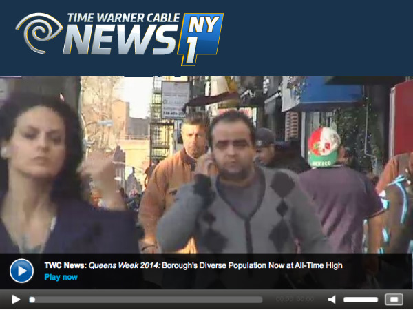 Record Population in Queens County: Social Explorer's Andrew Beveridge on NY1 TV