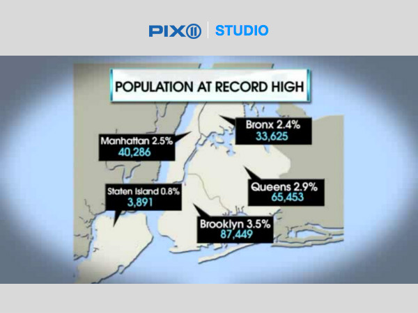Social Explorer's Andrew Beveridge Explains NYC's Growth on WPIX Television