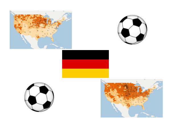 World Cup Highlights: German Fans Then and Now