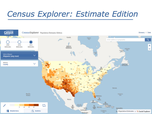 "New ""Census Explorer: Estimate Edition"" Launches"