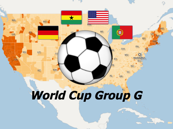 World Cup Data Fever: Team USA's Competitors