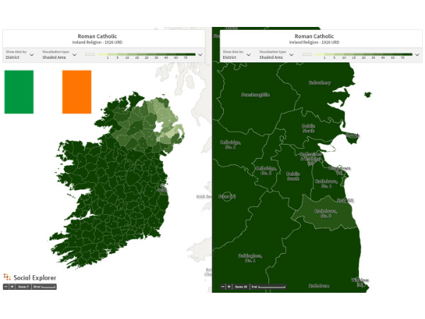 Celebrate St. Patrick's Day with Data from Ireland