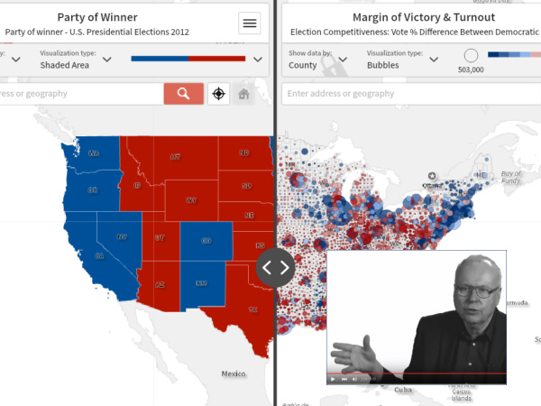 Social Explorer Election Maps: Competitiveness