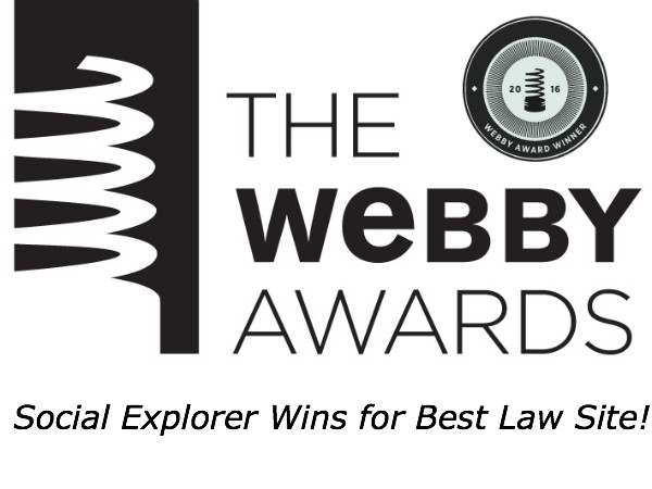 Social Explorer Project Named Best Law Website in the 20th Annual Webby Awards!