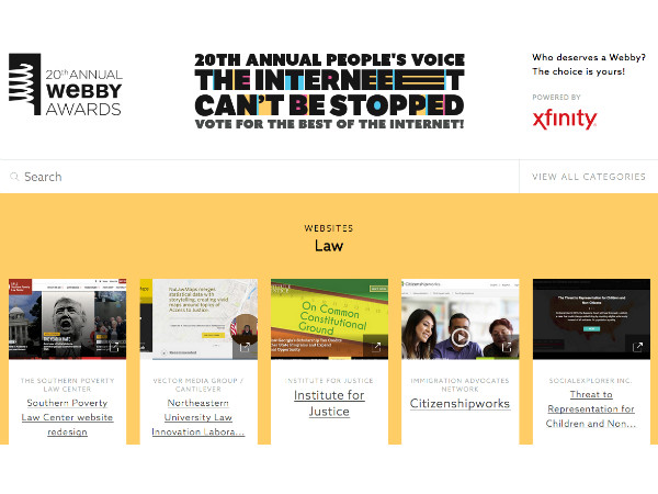 How to Vote for Social Explorer in the Webby Awards People's Voice Competition