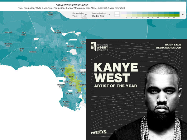 Getting Ready for the Webby Awards with Kanye West