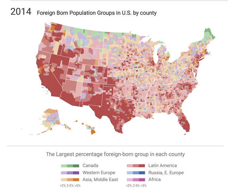 Discover Immigration Trends with Social Explorer Maps Smithsonian