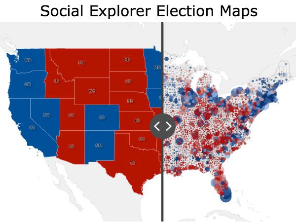 Updated and Expanded 2016 Election Results Maps