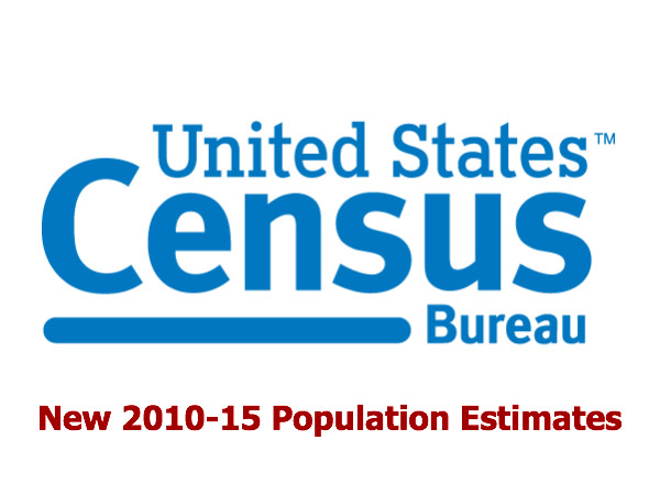 Detailed Population Estimates for 2010 to 2015 Now Available