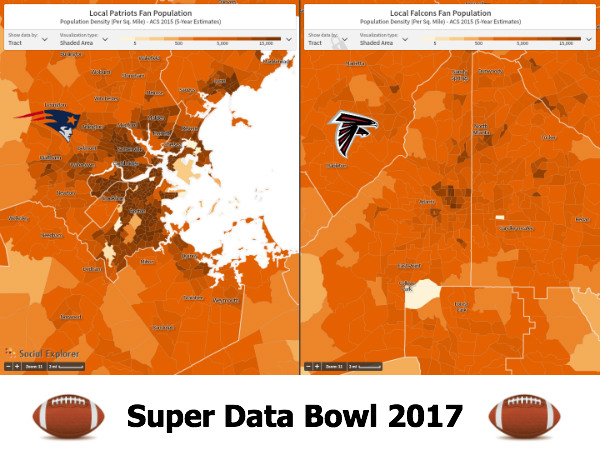 Warm up for the Super Bowl with Social Explorer's own Big Data Dance