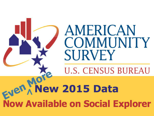American Community Survey Supplement: More Detail and More Geos