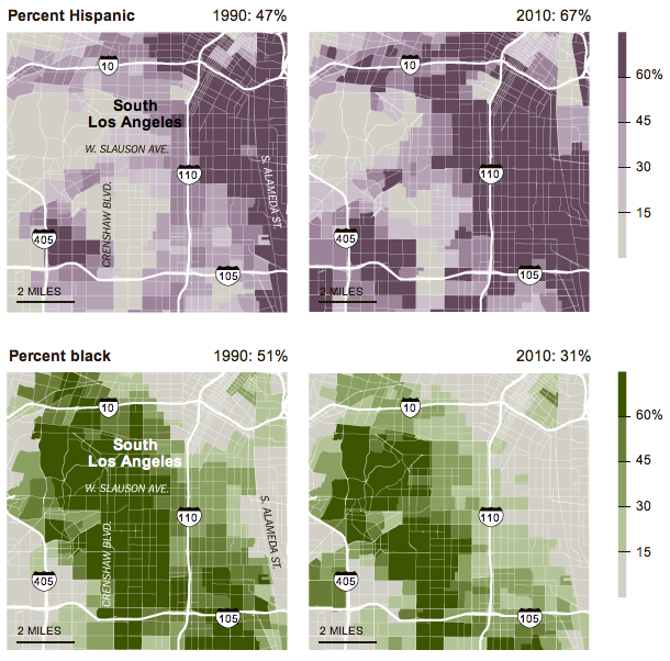 Se data in the ny times on shifting la demographics 20 years after se data in the ny times on shifting la demographics 20 years after the riots social explorer sciox Gallery