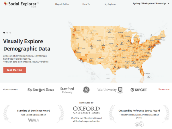Introducing the New Social Explorer Website