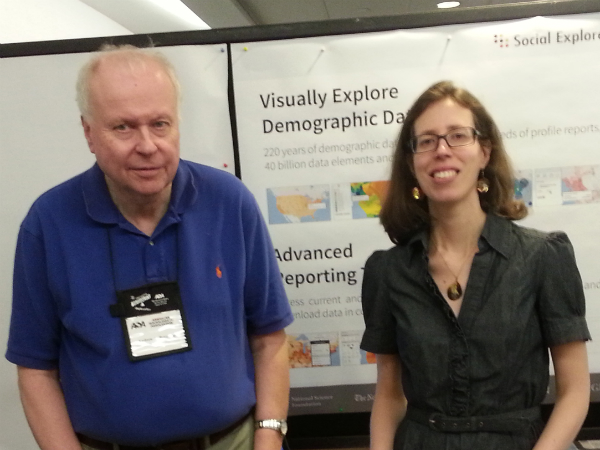 Social Explorer at the American Sociological Association Conference 2013