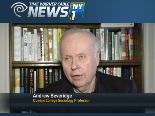 Social Explorer's Andrew Beveridge Talks About New Census Estimates on NY1 [VIDEO]