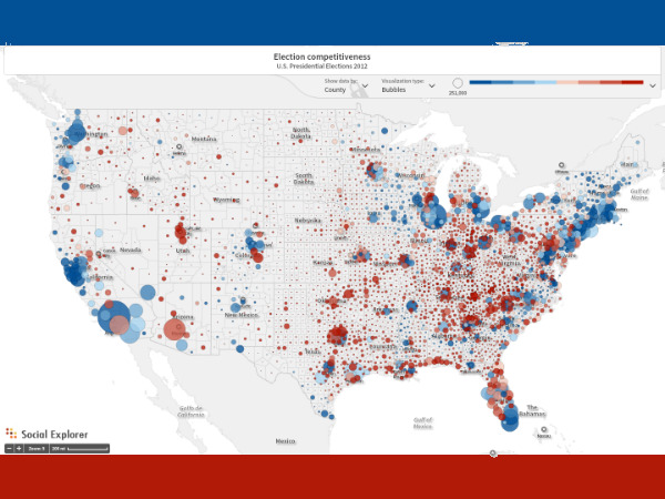 Blog Category New Features Social Explorer - 2015 us election map