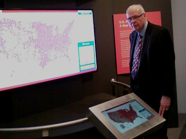Social Explorer Exhibit U.S. Population: A Map of Diversity Now Open at Ellis Island Museum