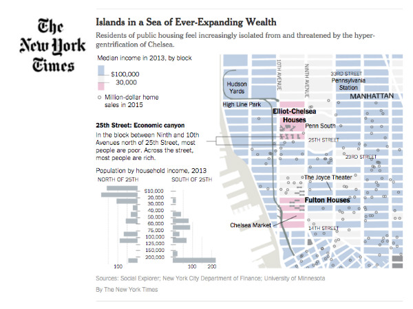 Social Explorer in the NY Times on Affordable Housing in Chelsea