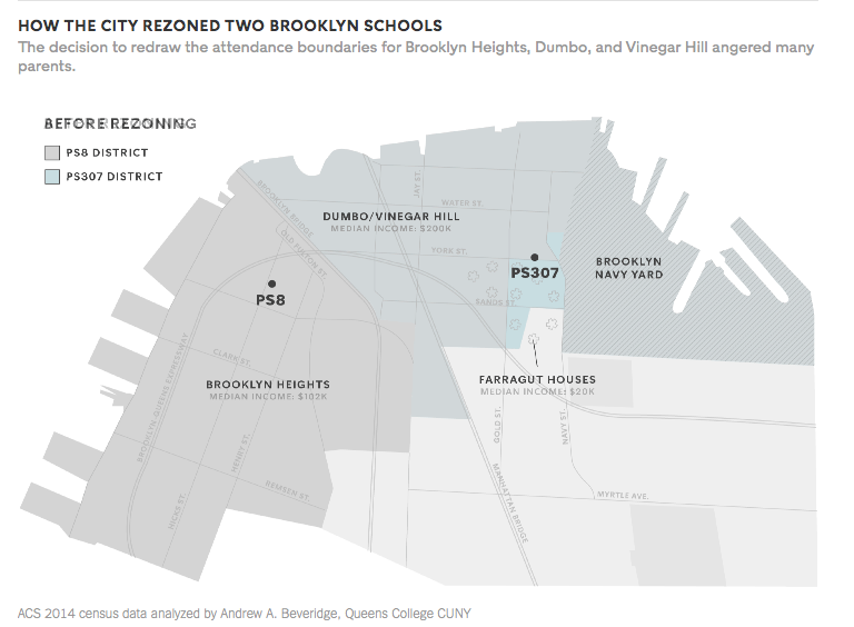 Social Explorer Map in NY Times Article on School Segregation ...