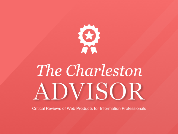 Social Explorer Wins Charleston Advisor Award!
