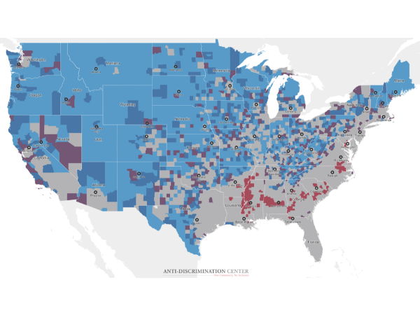 New Interactive Maps Illustrate Persistent Housing Segregation in America